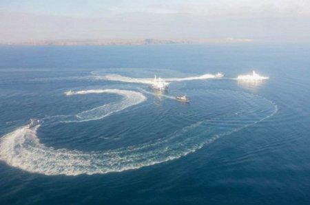 Украинские военные корабли пересекли границу России