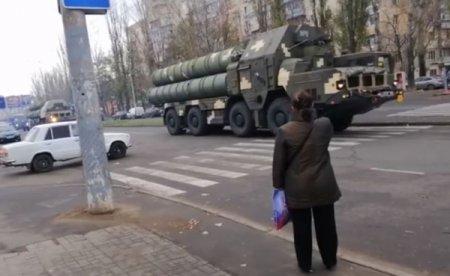 В Одессе замечены зенитно-ракетные комплексы С-300
