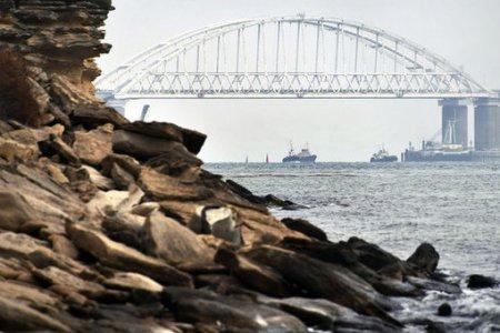 Два корабля столкнулись в Керченском проливе