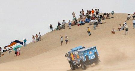 Россиян выгнали с гонки Дакар